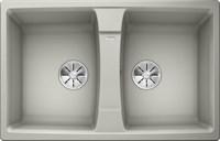 Кухонная мойка Blanco LEXA 8 SILGRANIT PuraDur жемчужный  (524963)