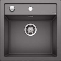Кухонная мойка Blanco DALAGO 5 SILGRANIT PuraDur темная скала с клапаном-автоматом (518848)