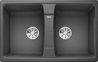 Кухонная мойка Blanco LEXA 8 SILGRANIT PuraDur темная скала  (524961)