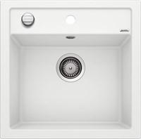Кухонная мойка Blanco DALAGO 5 SILGRANIT PuraDur белый с клапаном-автоматом (518524)