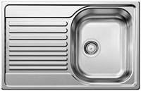 Кухонная мойка Blanco TIPO 45 S Compact нерж. сталь полированная  (513442)