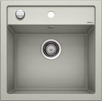 Кухонная мойка Blanco DALAGO 5 SILGRANIT PuraDur жемчужный с клапаном-автоматом (520544)