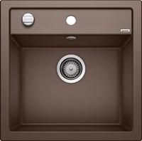 Кухонная мойка Blanco DALAGO 5 SILGRANIT PuraDur кофе с клапаном-автоматом (518529)