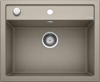 Кухонная мойка Blanco DALAGO 6 SILGRANIT PuraDur серый беж с клапаном-автоматом (517320)