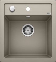 Кухонная мойка Blanco DALAGO 45 SILGRANIT PuraDur серый беж с клапаном-автоматом (517317)