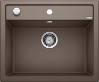 Кухонная мойка Blanco DALAGO 6 SILGRANIT PuraDur кофе с клапаном-автоматом (515066)