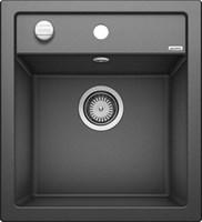 Кухонная мойка Blanco DALAGO 45 SILGRANIT PuraDur антрацит с клапаном-автоматом (517156)