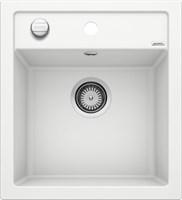 Кухонная мойка Blanco DALAGO 45 SILGRANIT PuraDur белый с клапаном-автоматом (517160)