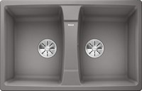 Кухонная мойка Blanco LEXA 8 SILGRANIT PuraDur алюметаллик  (524962)