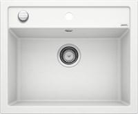 Кухонная мойка Blanco DALAGO 6 SILGRANIT PuraDur белый с клапаном-автоматом (514199)