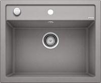 Кухонная мойка Blanco DALAGO 6 SILGRANIT PuraDur алюметаллик с клапаном-автоматом (514198)