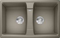 Кухонная мойка Blanco LEXA 8 SILGRANIT PuraDur серый беж  (524967)