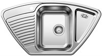 Кухонная мойка Blanco TIPO 9 E нерж. сталь матовая  (511582)