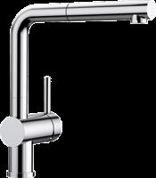 Смеситель для кухонной мойки Blanco LINUS-S хром  (512402)