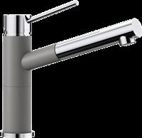Смеситель для кухонной мойки Blanco ALTA-S Compact хром/алюметаллик (515326)