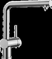 Смеситель для кухонной мойки Blanco LINUS нерж.  (517183)