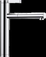 Смеситель для кухонной мойки Blanco LINEE-S хром  (517591)