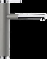 Смеситель для кухонной мойки Blanco LINEE-S алюметаллик  (518439)