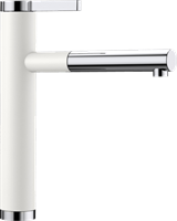 Смеситель для кухонной мойки Blanco LINEE-S белый  (518441)