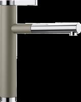 Смеситель для кухонной мойки Blanco LINEE-S серый  (518446)