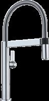 """Смеситель для кухонной мойки Blanco CULINA-S Mini поверхность """"нержавеющая сталь""""  (519844)"""