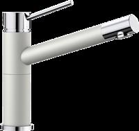 Смеситель для кухонной мойки Blanco ALTA Compact хром/жемчужный (520729)
