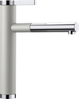 Смеситель для кухонной мойки Blanco LINEE-S жемчужный  (520745)