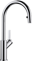 Смеситель для кухонной мойки Blanco CARENA-S хром  (520767)