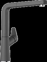 Смеситель для кухонной мойки Blanco AVONA-S темная  (521285)