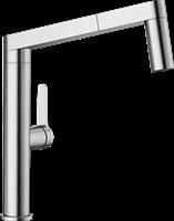Смеситель для кухонной мойки Blanco PANERA-S нерж.сталь  (521547)