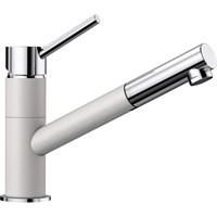 Смеситель для кухонной мойки Blanco KANO-S белый/хром  (525040)