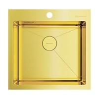 Кухонная мойка Omoikiri Akisame 51-LGнерж.сталь/светлое золото(4973439)