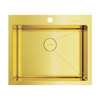 Кухонная мойка Omoikiri Akisame 59-LG нерж.сталь/светлое золото(4973082)