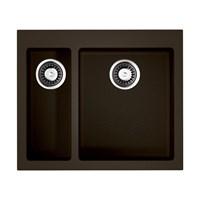 Кухонная мойка Omoikiri Bosen 59-2-DC Tetogranit/темный шоколад(4993223)