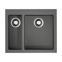 Кухонная мойка Omoikiri Bosen 59-2-PL Tetogranit/платина(4993224)