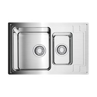Кухонная мойка Omoikiri Mizu 78-2-IN универсальная/нерж.сталь (4973731)