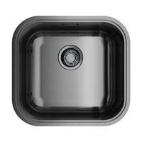 Кухонная мойка Omoikiri Omi 44-U/IF-GM нерж.сталь/вороненая сталь (4993191)