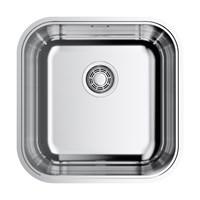 Кухонная мойка Omoikiri Omi 44-U/IF-IN Quadro нерж.сталь/нержавеющая сталь (4993494)