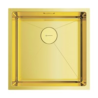 Кухонная мойка Omoikiri Taki 44-U/IF-LG нерж.сталь/светлое золото (4973520)