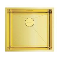 Кухонная мойка Omoikiri Taki 49-U/IF-LG нерж.сталь/светлое золото (4973523)