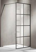 Душевая дверь в нишу BRAVAT BLACKLINE 900х1950  (BG090.5413B)