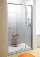 Душевая дверь поворотного типа Ravak Pivot PDOP2-110 белый/белый+транспарент  (03GD0101Z1)