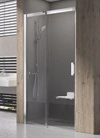 Душевая дверь Ravak Matrix MSD2-110 L сатин+транспарент  (0WLD0U00Z1)
