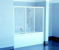 Шторка для ванны Ravak AVDP3-120 белая+грейп (40VG0102ZG )