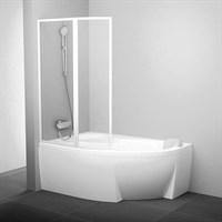 Шторка для ванны Ravak VSK2 Rosa 140 L рейн (76L7010041 )