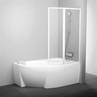 Шторка для ванны Ravak VSK2 Rosa 150 P транспарент (76P80100Z1 )
