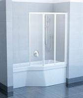 Шторка для ванны Ravak VS3 115 сатин+рейн (795S0U0041 )