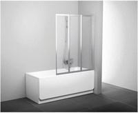 Шторка для ванны Ravak 10CVS2-100 R белый+транспарент  (7QRA0103Z1)