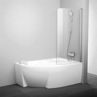 Шторка для ванны Ravak CVSK1 Rosa 160/170 P сатин+транспарент (7QRS0U00Y1 )