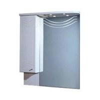 Зеркальный шкаф Aquaton Домус 95 L белый  (1A001002DO01L)